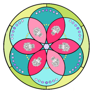 Mandala-peinetas-coloreado