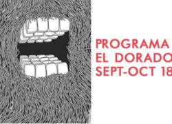 Programación septiembre-diciembre 2018 El Dorado